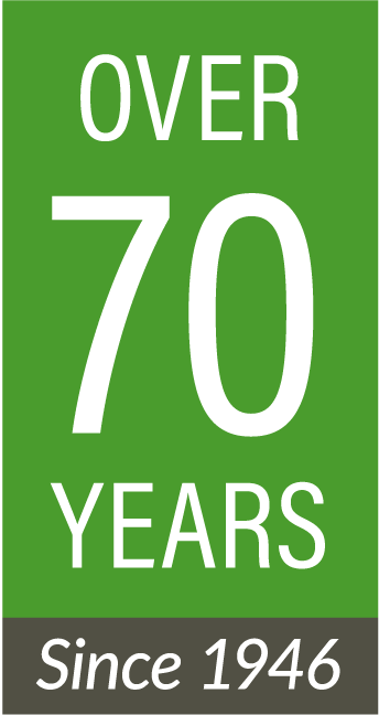 Jones and Roth 70 years logo