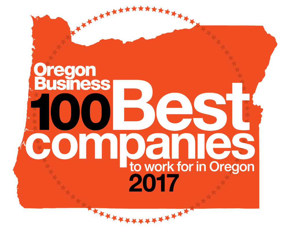 Oregon Business 100 Best Companies logo