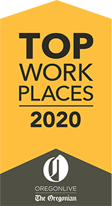 Top Work Places 2020 logo