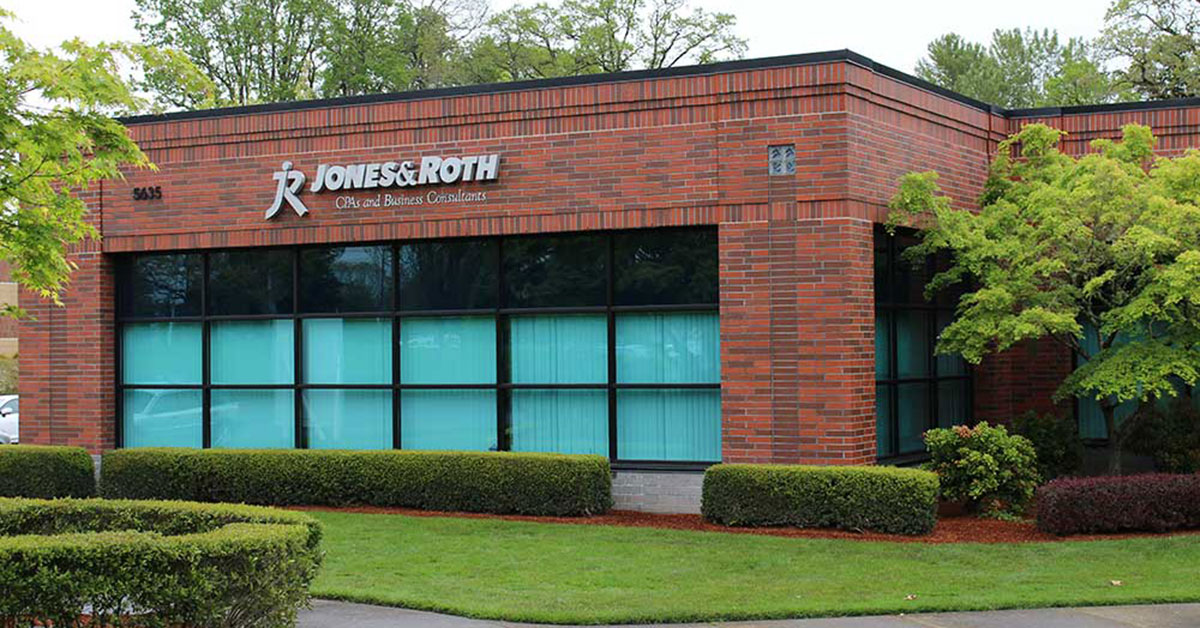 Photo of Hillsboro office of Jones & Roth