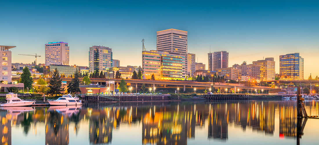 Photo of Tacoma, WA location of the 2019 PNW Medical Managers Conference