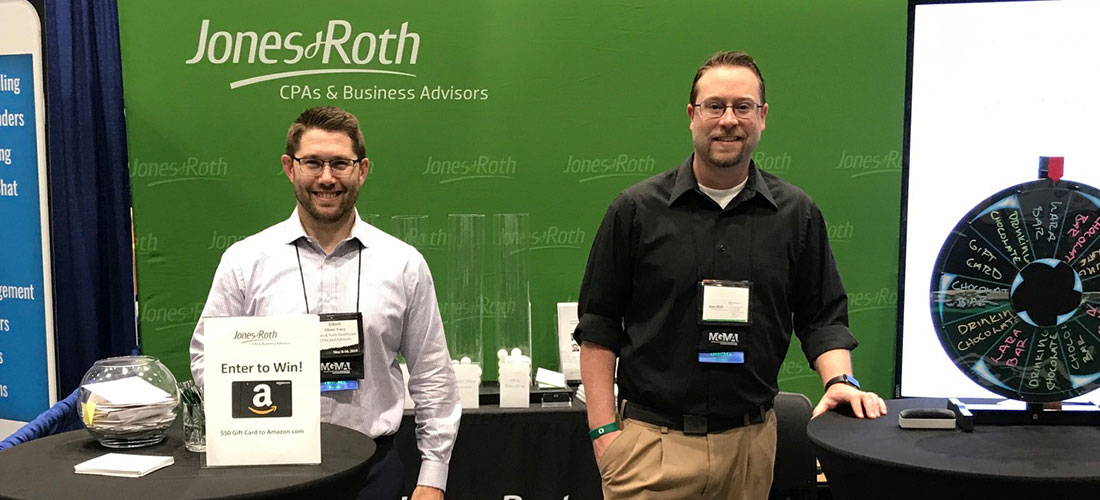 Photo of Jones & Roth Healthcare Team at the PNW Medical Managers Conference
