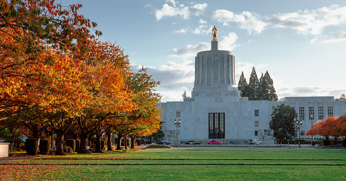 Image of the Oregon State Capitol